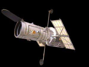 Papercraft del Telescopio Hubble. Manualidades a Raudales.