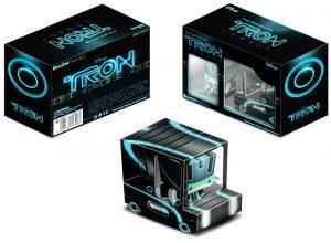 Papercraft imprimible y armable del Camión de juguete de Tron. Manualidades a Raudales.