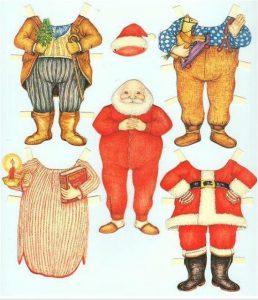 Recortable de Navidad. Manualidades a Raudales.