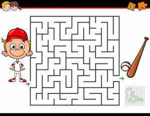 Laberintos infantiles. Manualidades a Raudales.